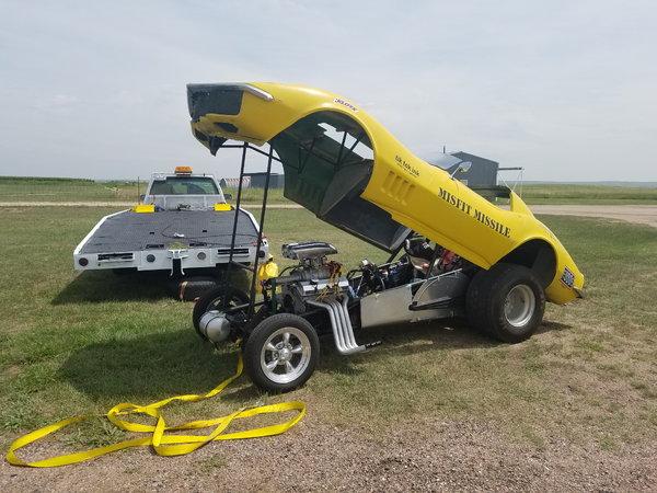 1968 Corvette funny car turn key. Ramp truck sold  for Sale $15,500