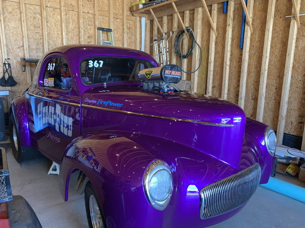 1941 Willys Coupe B/Gas  for Sale $119,000