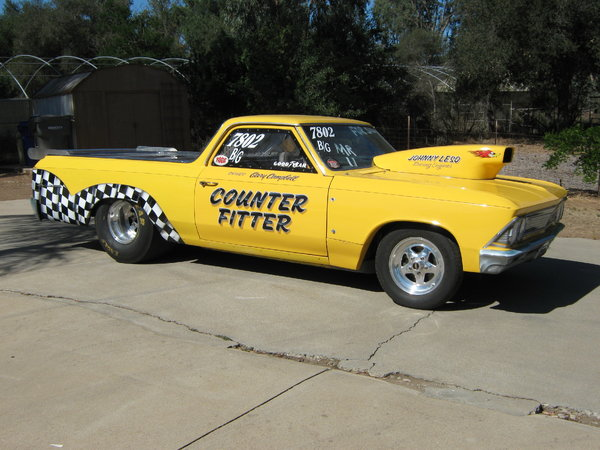 1966 el camino roller  for Sale $14,000