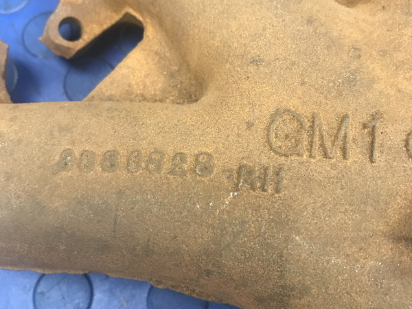 ORIGINAL GM BIG BLOCK CORVETTE EXHAUST MANIFOLD  for Sale $650