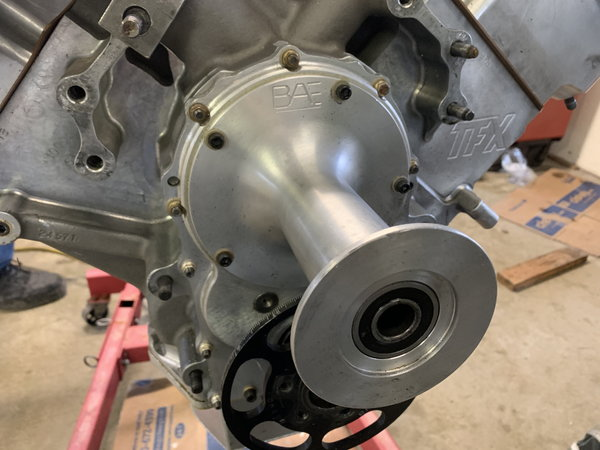 Alky Hemi TFX 96 block and BAE 5 heads  for Sale $19,000