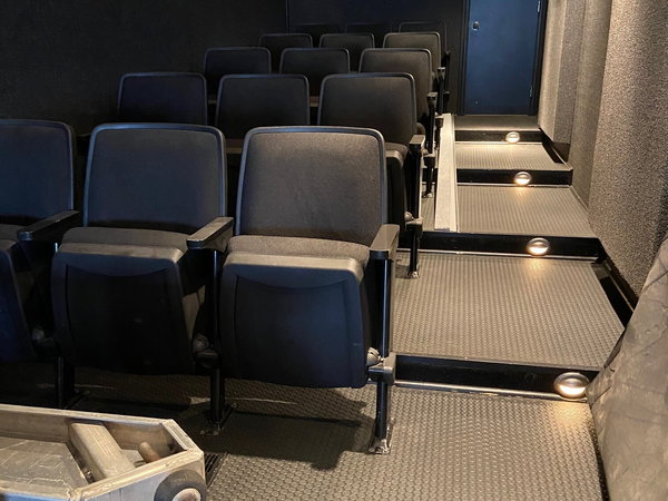 53' Hauler Movie Theater Office Race Trailer   for Sale $59,000