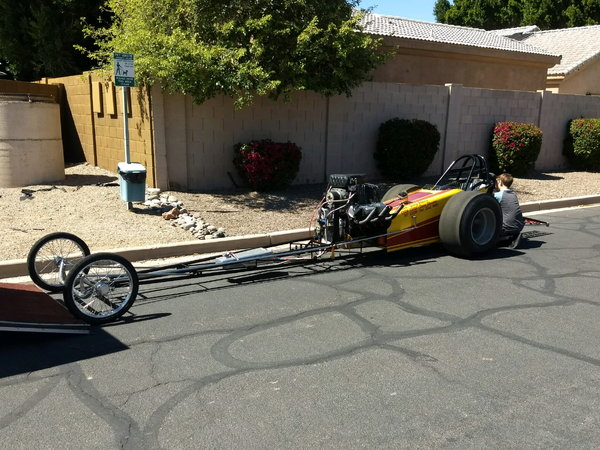 The Defiant Mouse FED Dragster  for Sale $24,900