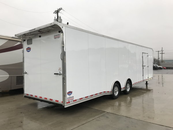 2019 United Trailers 8.5X40 EXTRA HEIGHT Car / Racing Traile