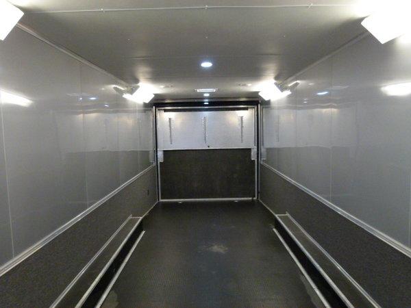 2019 34' CARGO MATE ELIMINATOR LOADED BATHROOM TRAILER