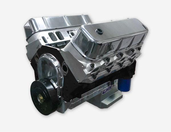 550HP 489ci Big Block Chevy Long Block Crate Engine