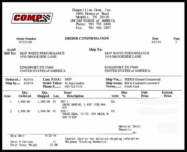 FORD 289 302 347 NKB-190cc ALUMINUM HEADS 60cc NKB-FORD-274  for Sale $729