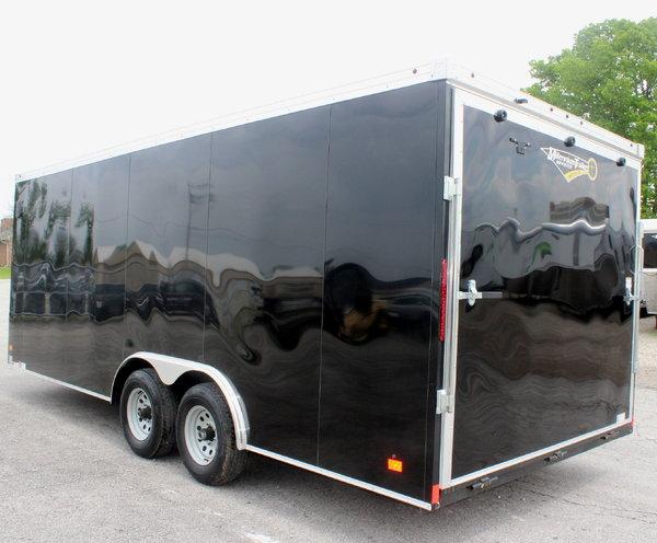 2019 Black 20' Transport V, HD Axles