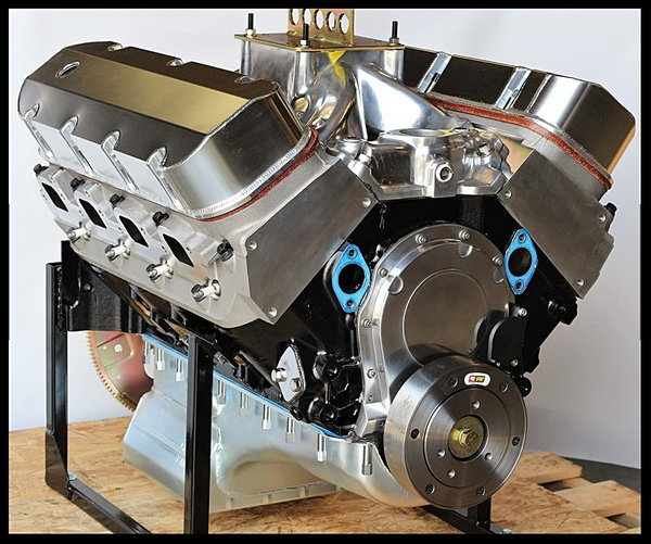 BBC CHEVY 454/468 ENGINE, DART BIG M BLOCK, ENGINE 600HP for sale in  Kingsport, TN, Price: $7,695