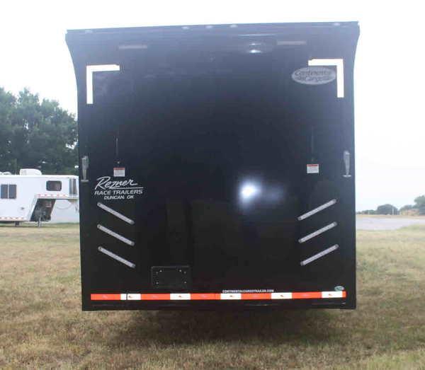 New 2020 34' Cont. Cargo Car Trailer w/Bath PKG