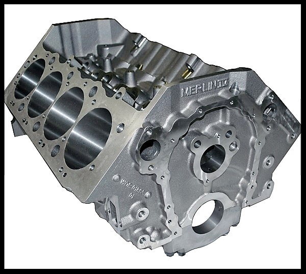 BBC CHEVY 632 STAGE 9.5 TURN KEY MOTOR MERLIN IV 812HP  for Sale $11,895