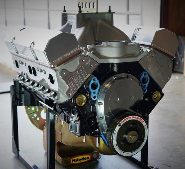 SBC 434 PRO STREET MOTOR, AFR HEADS, CRATE MOTOR 670 hp BASE  for Sale $8,650