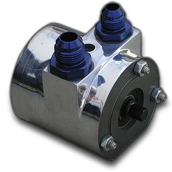 Mike Kuhl River Rat Water Pump- Billet Drives a Fuel Pump to