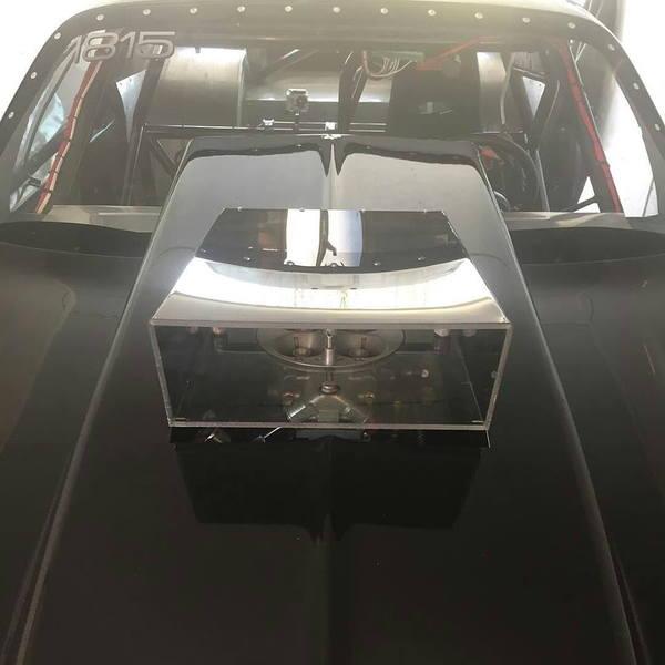 LRT HOOD SCOOP Lexan Single Carb Drag Race Racing Ram Air   for Sale $199