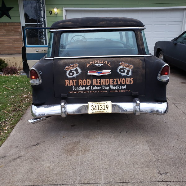 1955 Chevrolet wagon sale or trade