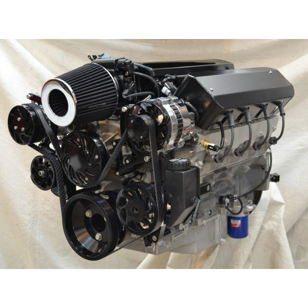 Dyno Tested LS3 480HP Deluxe Black Trim Engine Package  for Sale $12,200