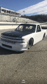 TWO NASCAR TRUCKS AND MOTOR AND PIT EQUIPMENT