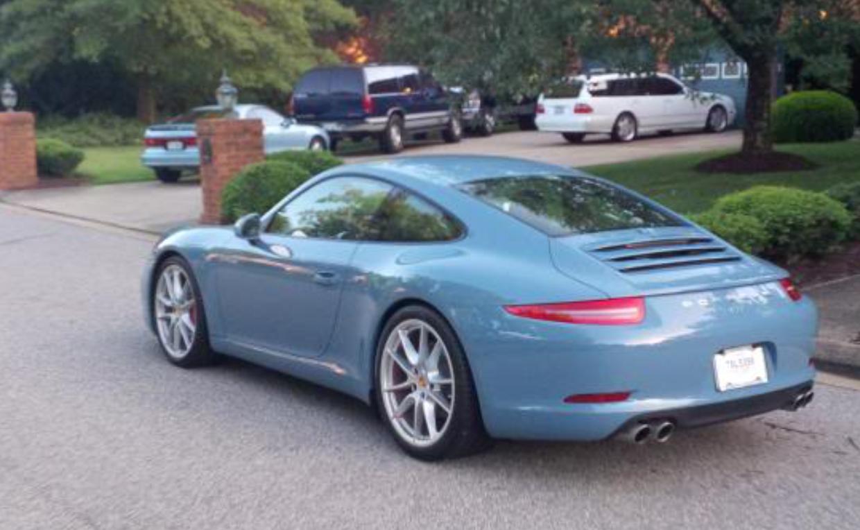 100+ [ Porsche Blue Paint Code ] | 2017 Porsche 911 Turbo ...