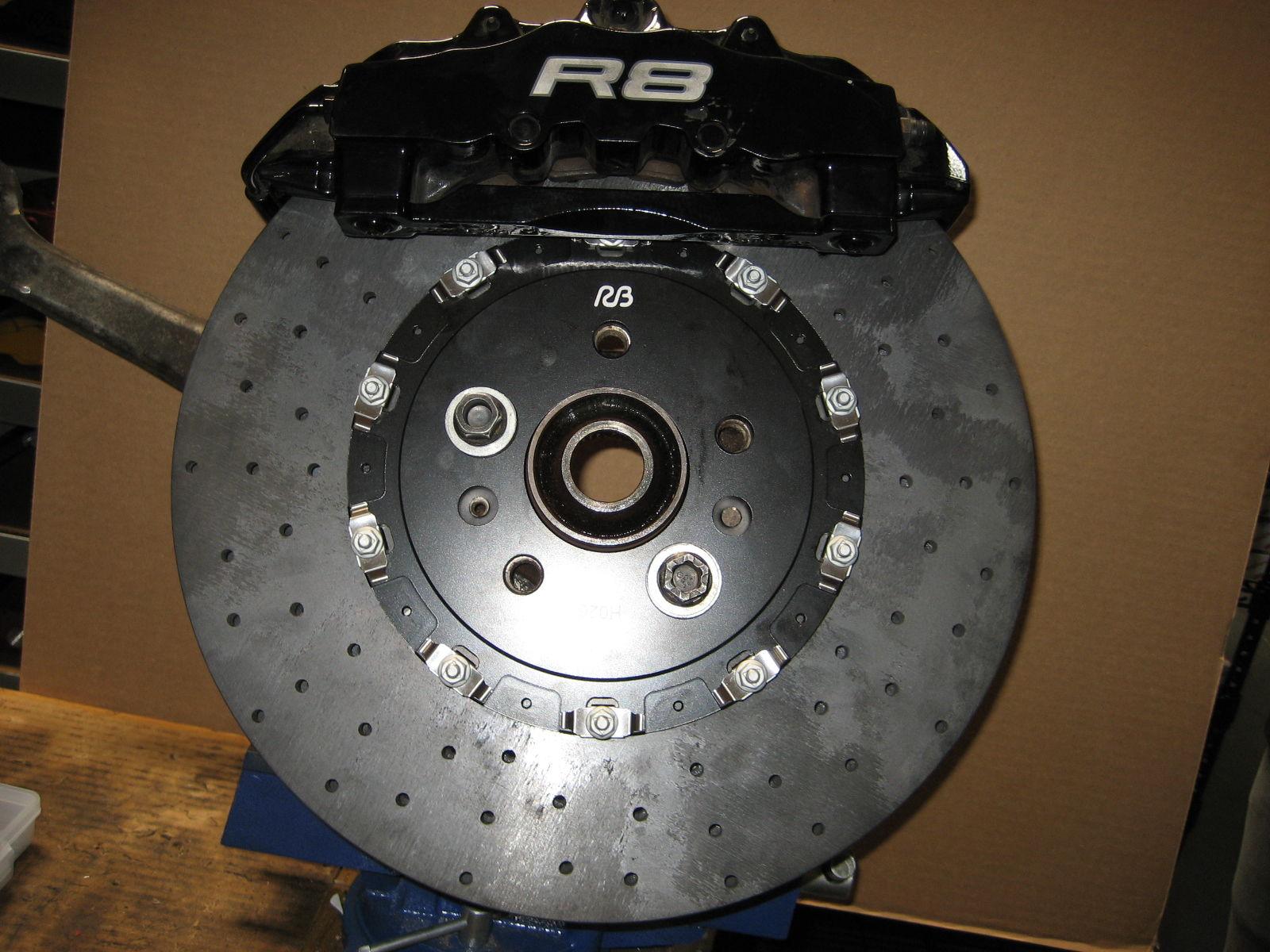 Carbon ceramic brakes for cayenne turbo s