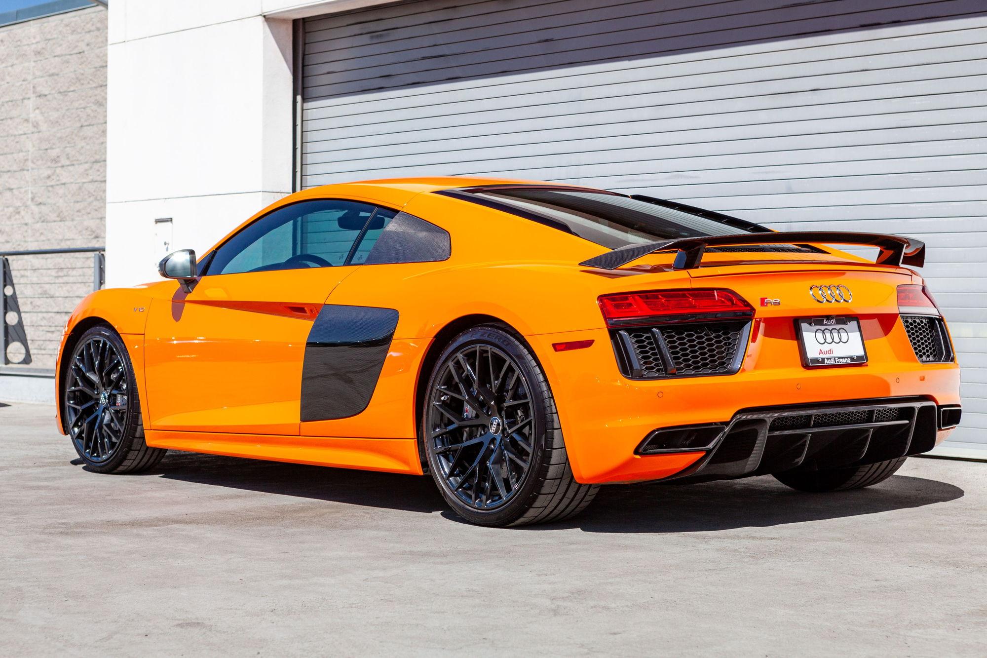 Dealer Inventory Solar Orange R8 V10 Plus Rennlist Porsche Discussion Forums