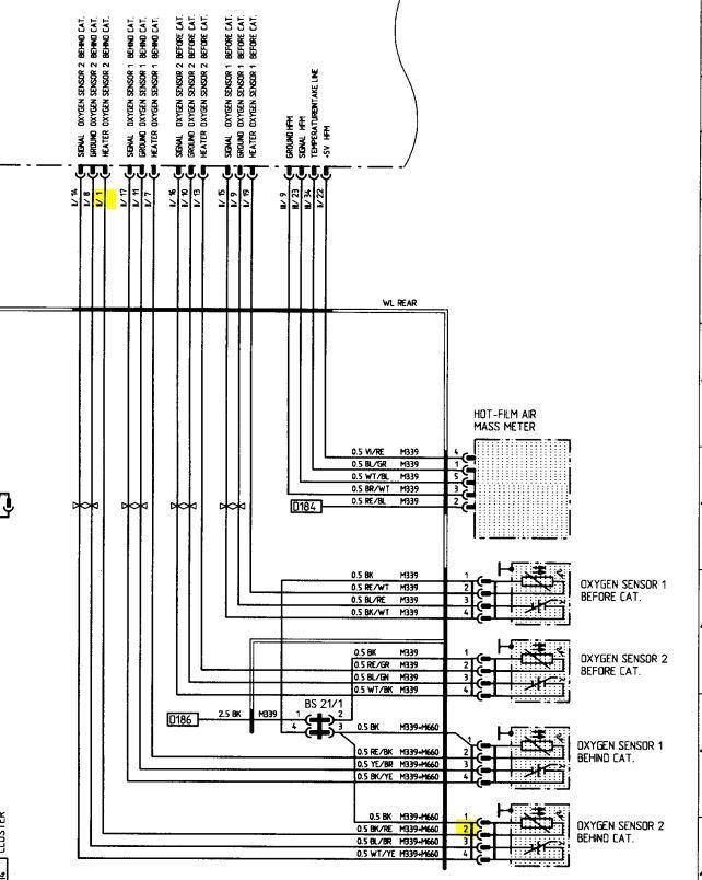 Bosch O2 Sensor Wiring Diagram Oxygen Wires Sensors