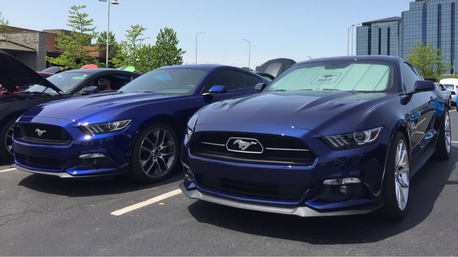 2017 Mustang Shelby Gt350 Black >> Kona Blue 2018 GT350 Pre-Production Photos | Page 2 ...
