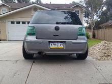 MK4 GTI green Hella taillights