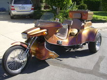 My beautiful VW trike.