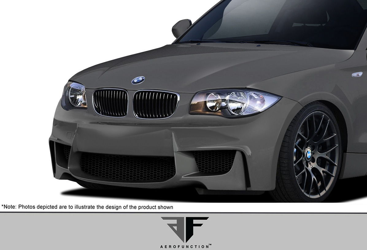 extreme dimensions new part bmw 1 series af 1 front bumper now available 6speedonline. Black Bedroom Furniture Sets. Home Design Ideas