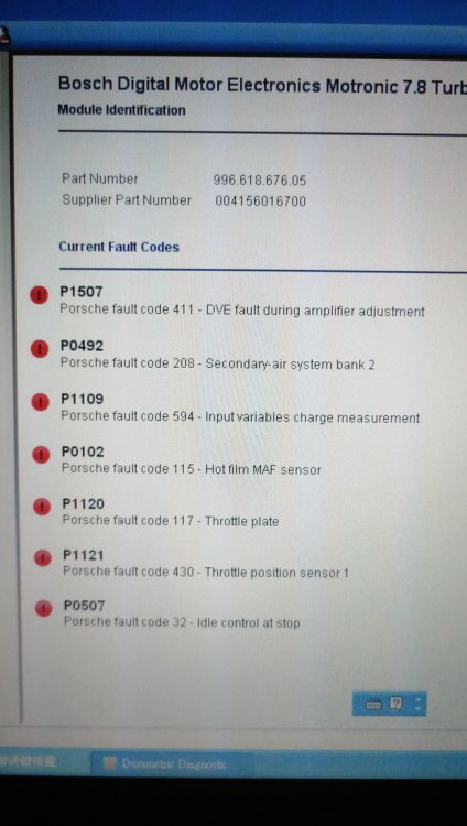 P1507 Throttle code again - 6SpeedOnline - Porsche Forum and