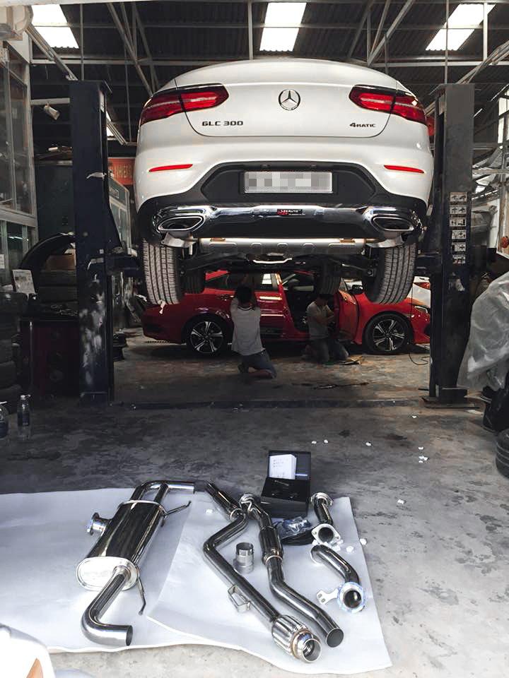 Mercedes GLC250/GLC300 | ARMYTRIX Decat/Cat-Back Valved