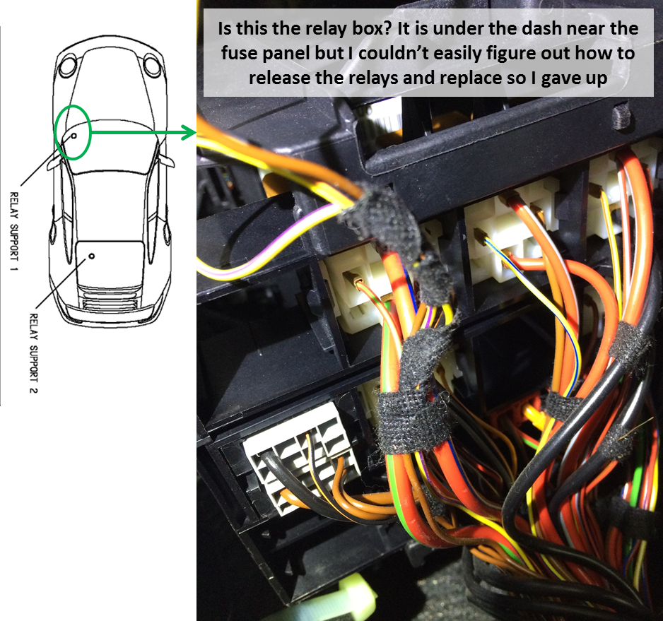 Fuel Pump Relay Fuse??! - 6SpeedOnline - Porsche Forum and