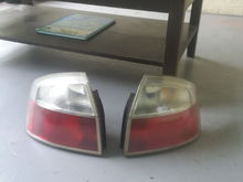 Clean Audi A4 B6 taillamps (I cant find these tail lights ANYWHERE evan on ebay)