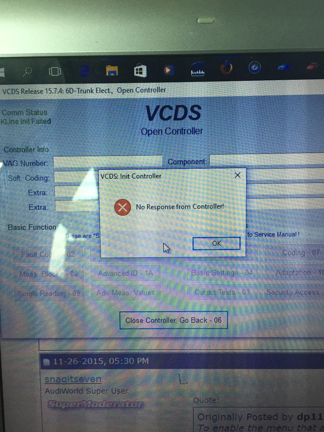 VAG-COM (VCDS) coding for 2016 FL A6/A7