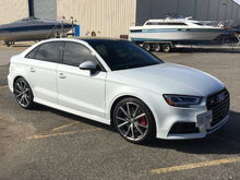 8 month 2017 Audi S3 ownership