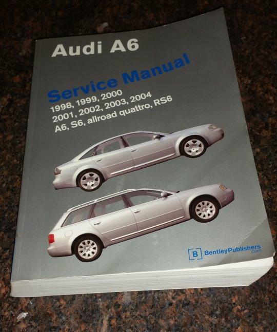 Audi A6 Bentley A6 C5 Service Manual  50 Shipped
