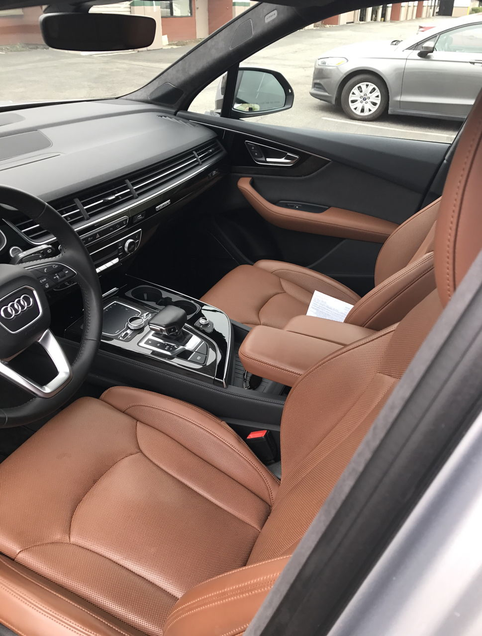 2017 Audi Q7 Cedar Brown Interior Www Indiepedia Org