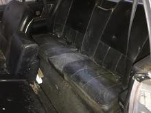 The world-famous back seat
