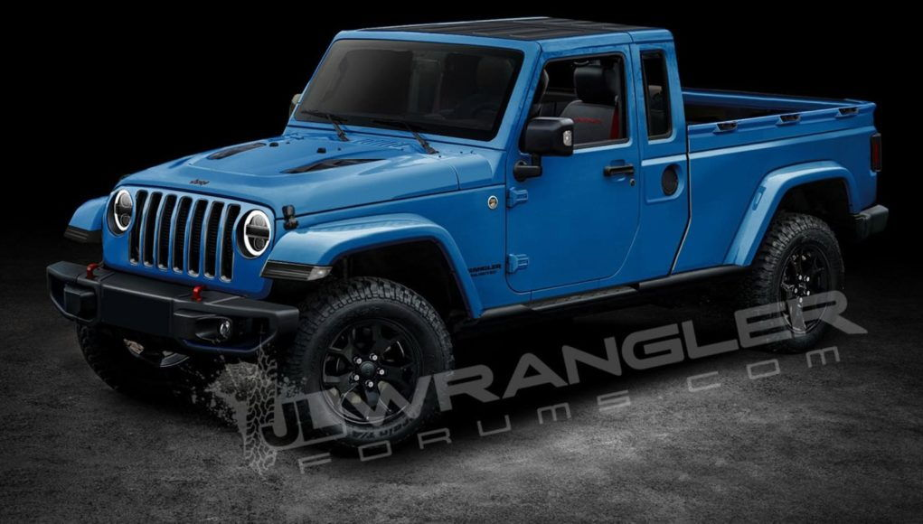 All But Confirmed The 2019 Jeep Scrambler Pickup Jeep