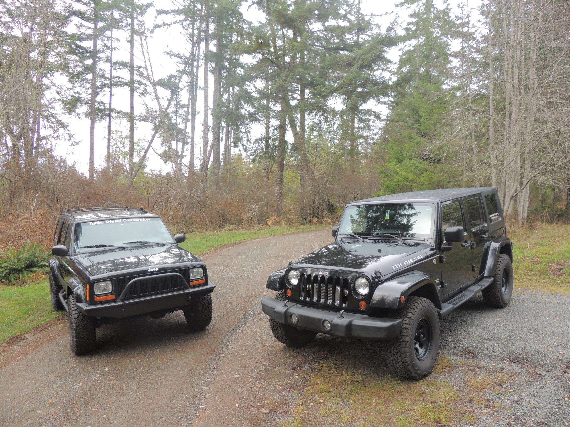 Project KEEP IT WEIRD XJ/VW 1 9L TDI swap - Overlander - Jeep