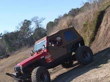 Here is my old wrangler,  badass but looks like every modified wrangler. Im going for different with this cherokee