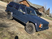 91 xj before lift