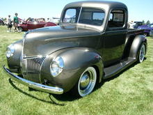 1940 ford v8 pickup in gray by haafasst d36ln9l