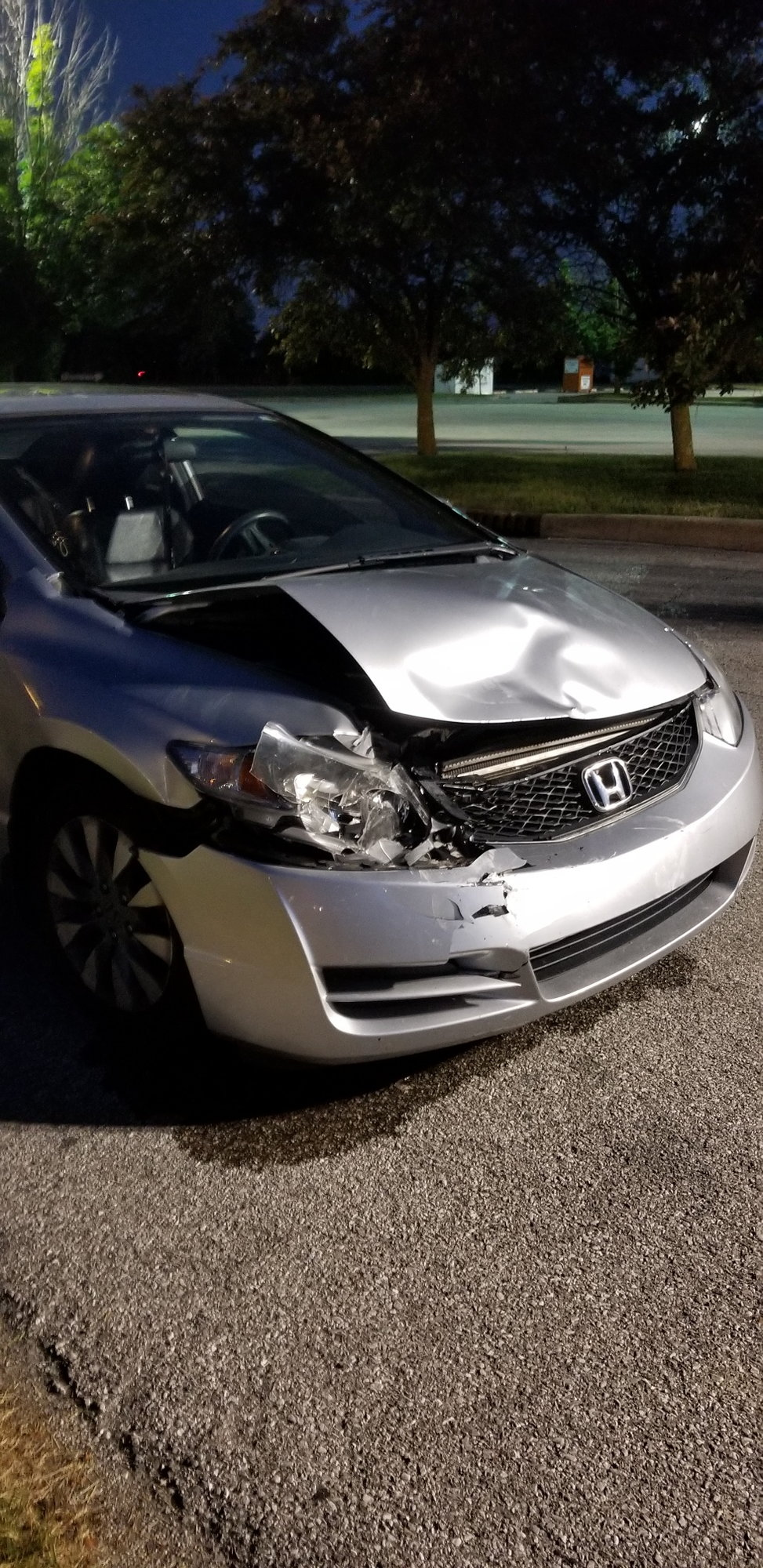 My 2010 Honda Civic Was In An Accident And I Have To Wait See If It S Totaled Or Not Does Anybody Think Has 116 000 Miles On