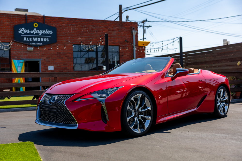 2021 lc 500 convertible official clublexus review