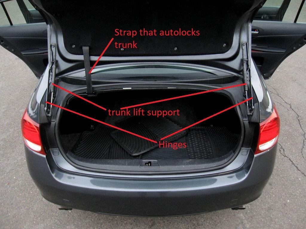 Trunk wiring/harness location? - ClubLexus - Lexus Forum ... on