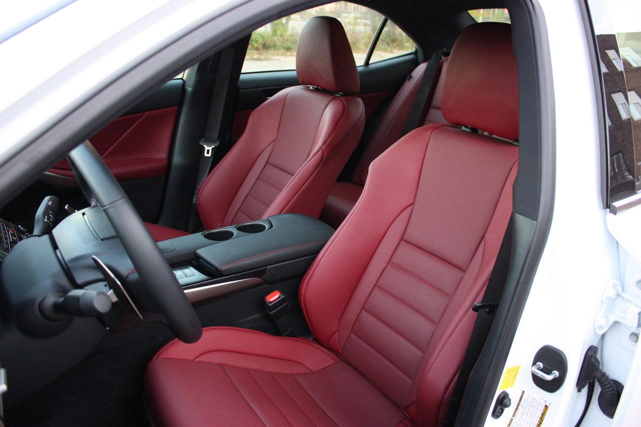 red interior seats clublexus lexus forum discussion