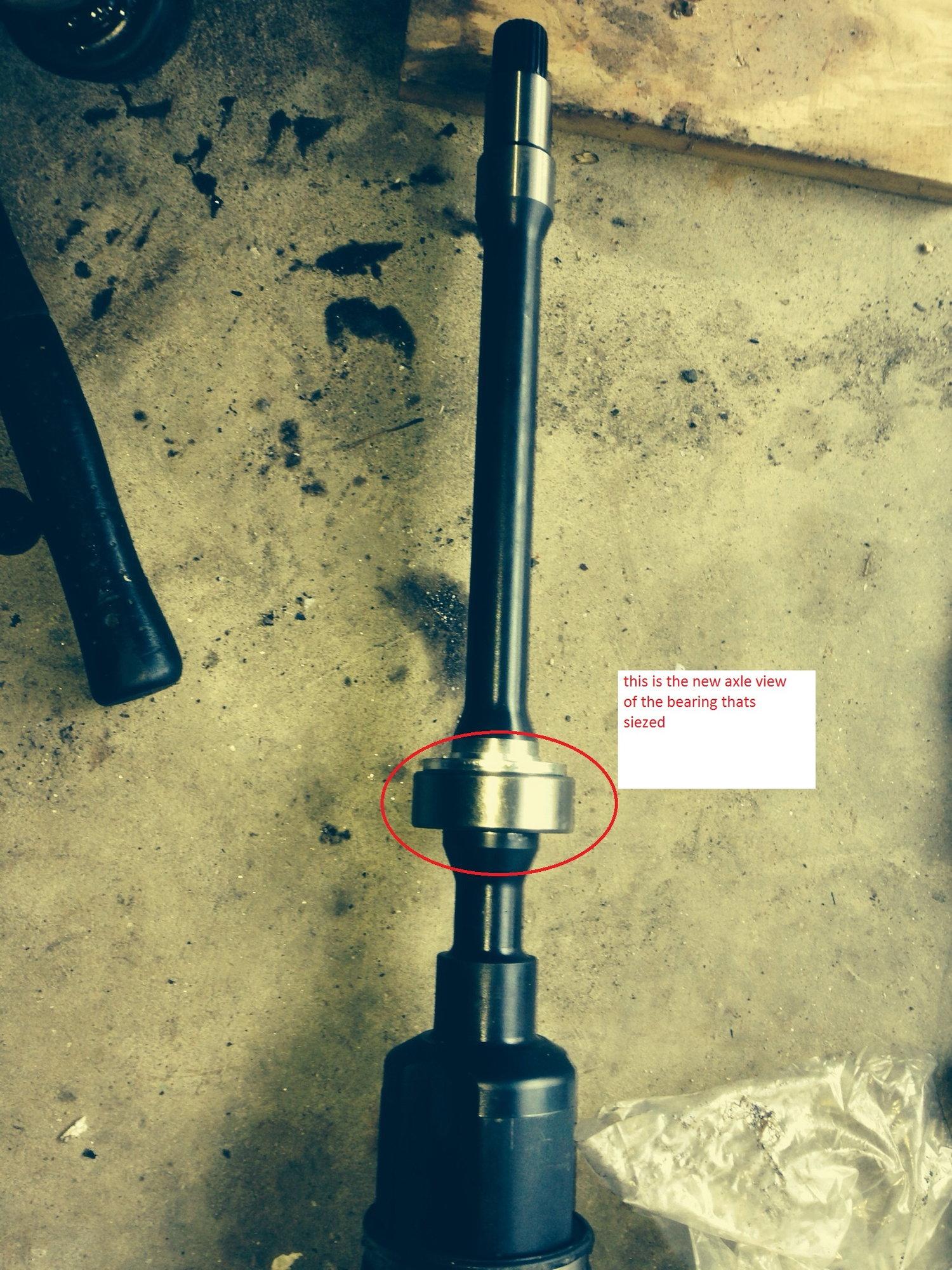 How to remove RF axle on an AWD? - ClubLexus - Lexus Forum