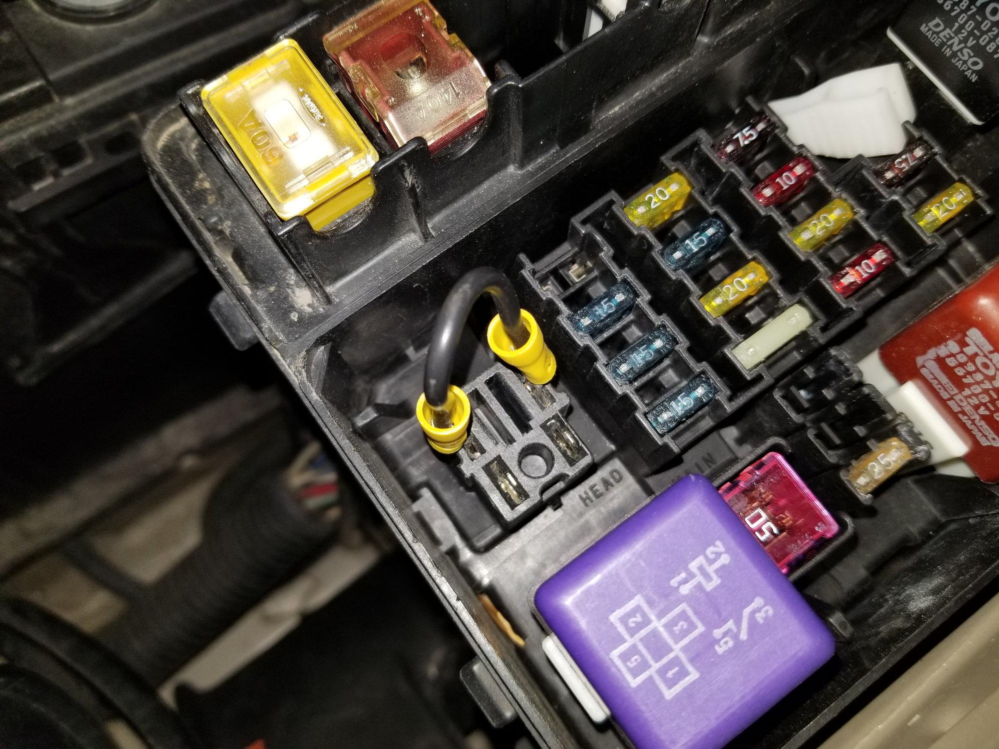 Fuse Box Diagram Lexus Rx300