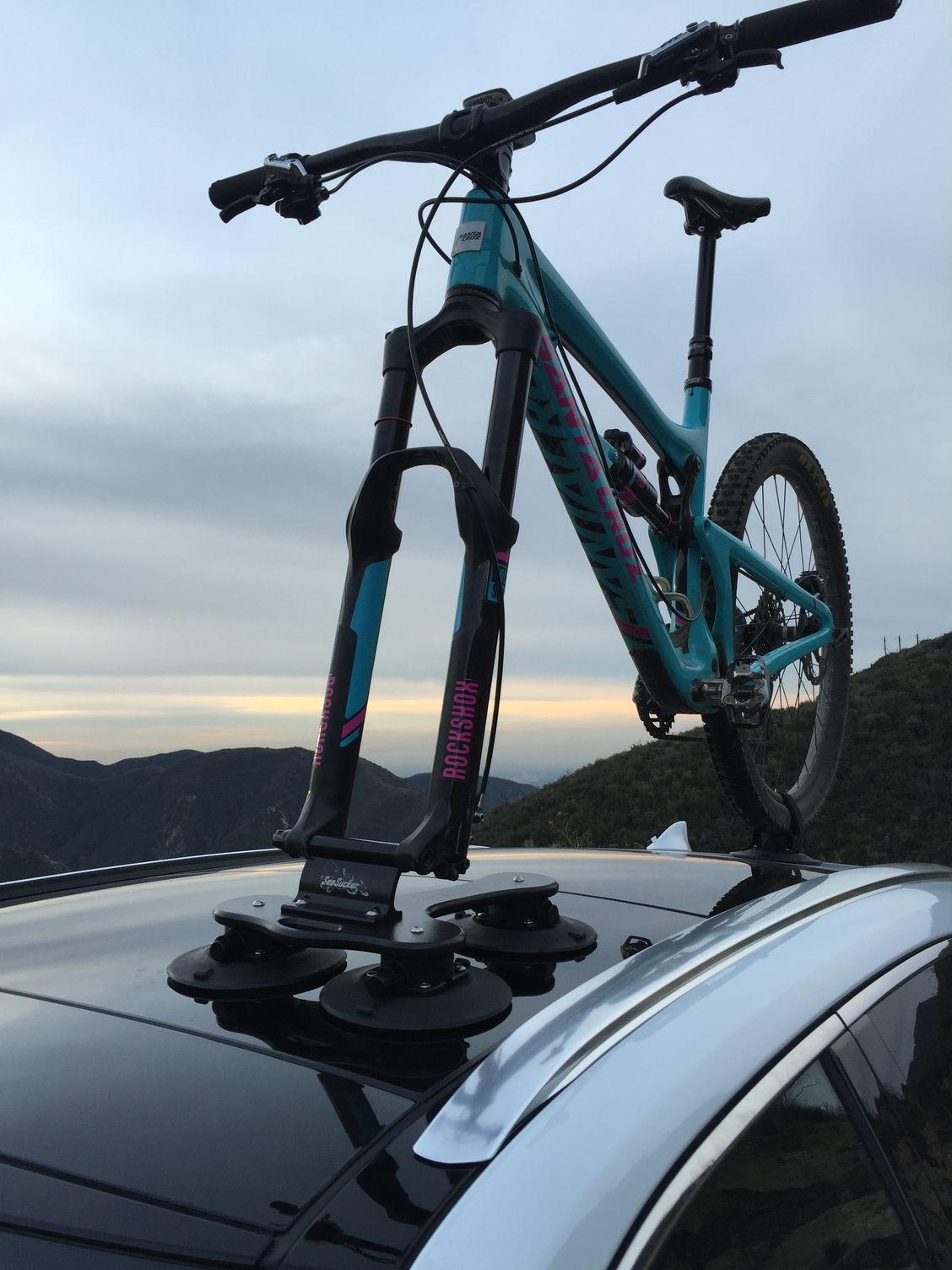 Seasucker Bike Rack Option No Crossbars No Hitch No